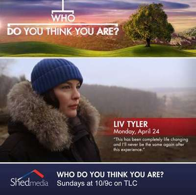 "Liv Tyler at ""Who Do You Think You Are?"", 24 April 2017"