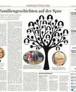 Article in the German daily newspaper Lübecker Nachrichten on a special research project of Beyond History in Lübeck